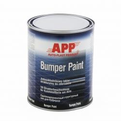 APP Bumper Farba Strukturalna Zderzaki Czarny - 1L