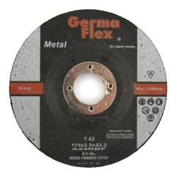TARCZA GF METAL T42 WYPUKŁA 115x2,5x22