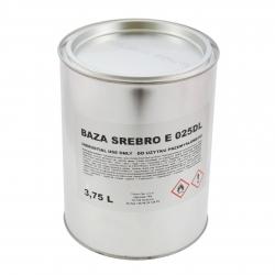 Troton Lakier Bazowy Srebrny E 025DL Dolarówka - 3,75L