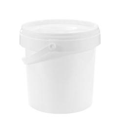 Wiaderko Plastikowe Białe - 1L