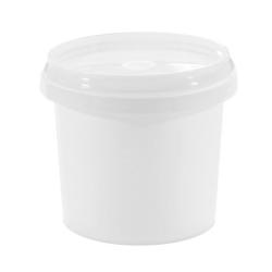 Wiaderko Plastikowe Białe - 365ml