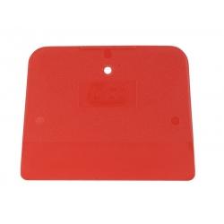 Colad Szpachelka Plastikowa Czerwona Giętka 120x90mm