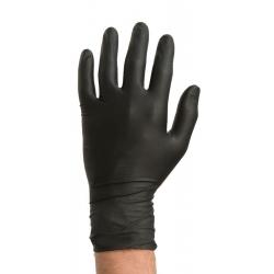 Colad Rękawiczki Nitrylowe Extra Czarne M - 60 szt.