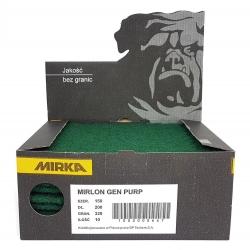 MIRKA MIRLON WŁÓKNINA ZIELONA GENERAL PURPOSE 150x200mm P320