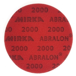 MIRKA ABRALON KRĄŻEK ŚCIERNY 150mm P2000
