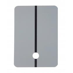 Colad Metalowy Panel do Natrysków Próbnych z Otworem Jasnoszary 15mm