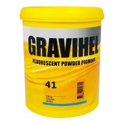 GRAVIHEL PIGMENT FLUORESCENCYJNY 41 POMARAŃCZOWO-ŻÓŁTY - 0,25kg