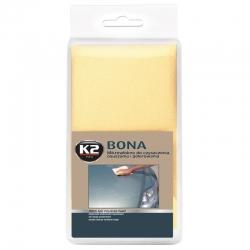 K2 Bona Ściereczka Polerska Mikrowłókno Żółta - 40x40cm