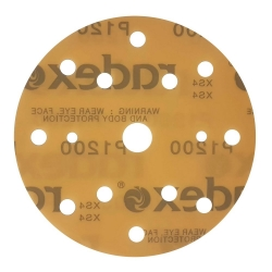 RADEX KRĄŻEK NA FOLII GOLD 150mm 15H P1200