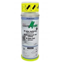ColorMatic Lakier Bezbarwny 2K z Utwardzaczem Połysk Spray - 200ml