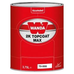 WANDA Lakier Akrylowy Topcoat 2K Max T0-000 - 3,75L