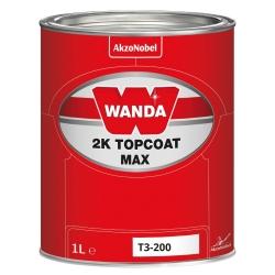 WANDA Lakier Akrylowy Topcoat 2K Max T3-200 - 1L