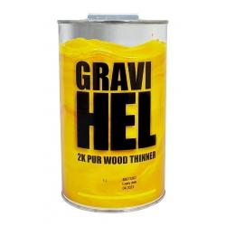 GRAVIHEL ROZCIEŃCZALNIK 2K PUR WOOD - 1L