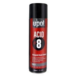 U-POL ACID 8 Podkład Wytrawiający Szary Spray - 450ml