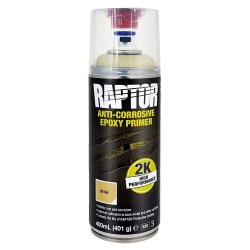 U-POL RAPTOR Spray 2K Podkład Epoksydowy Antykorozyjny 400ml - Beżowy