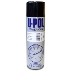 U-POL POWER CAN CZARNY MAT - 500ml