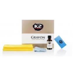 K2 Gravon Ceramiczna Ochrona Lakieru Zestaw