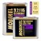 Zestaw: Lakier Bezbarwny Mobihel V5 Antiscratch 5L + Utwardzacz 7750 - 4 kpl.