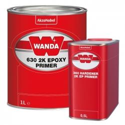 WANDA 630 Podkład Epoksydowy 2K + Utwardzacz - 1,5L