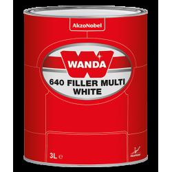 WANDA 640 Podkład Wypełniający Filler Multi Biały - 3L
