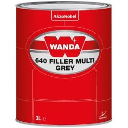 WANDA 640 Podkład Wypełniający Filler Multi Szary - 3L