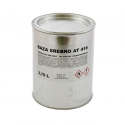 TROTON LAKIER BAZOWY SREBRNY AT416 - 3,75L